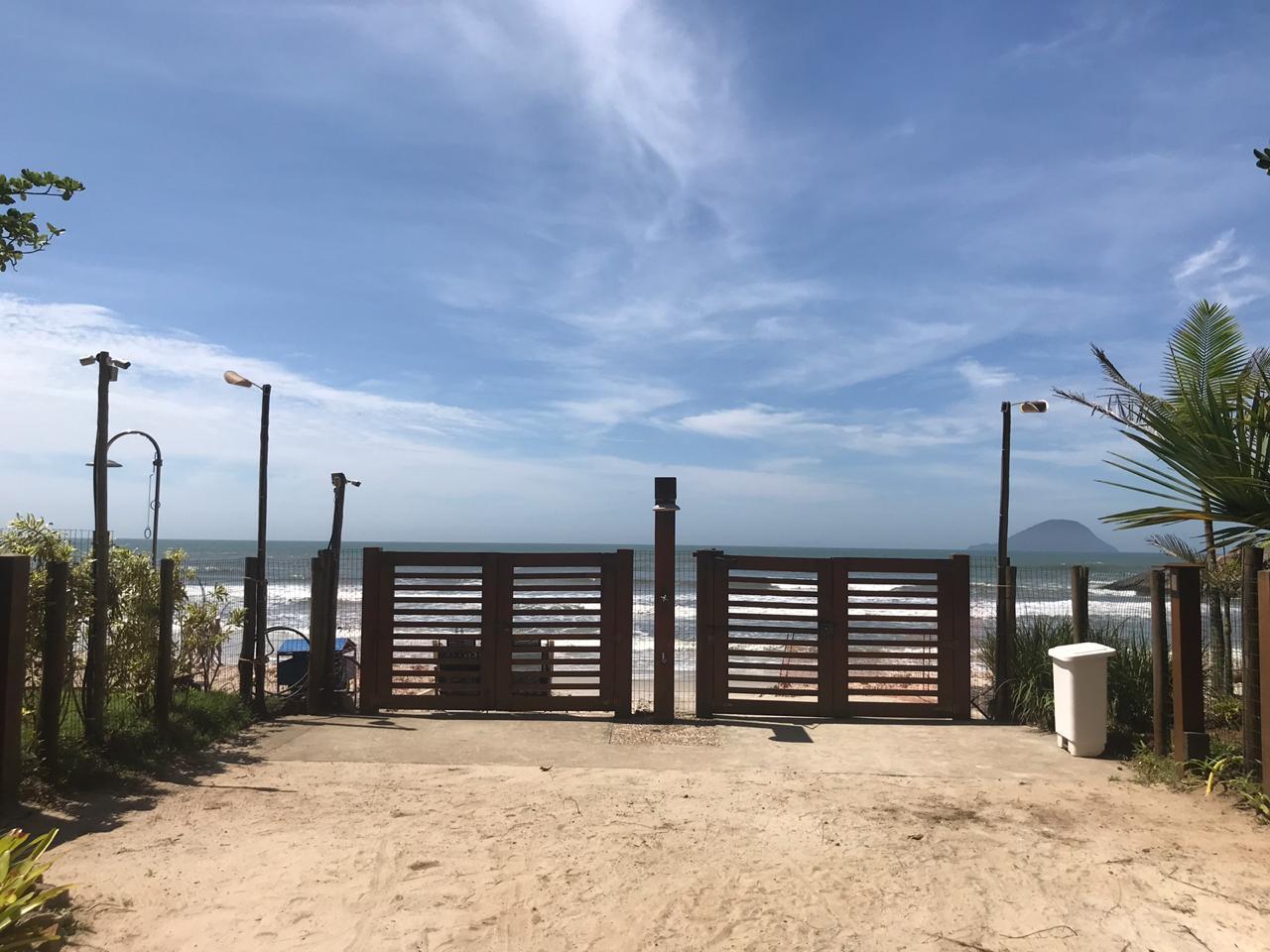 Acesso a Praia