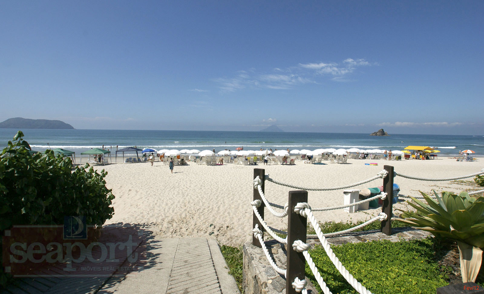 Deck e Serviço de Praia