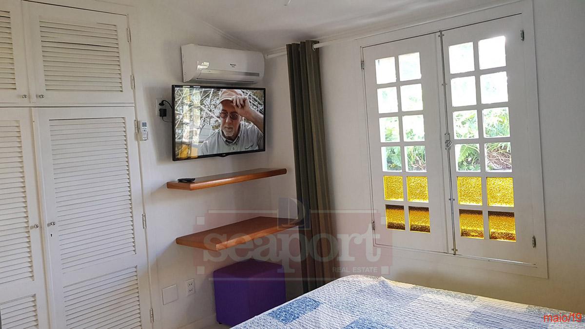 Suíte 1, ar condicionado, ventilador Tv43
