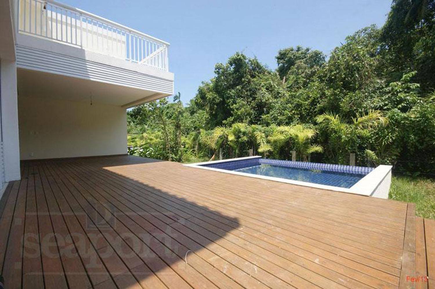 Deck e Piscina Privativa