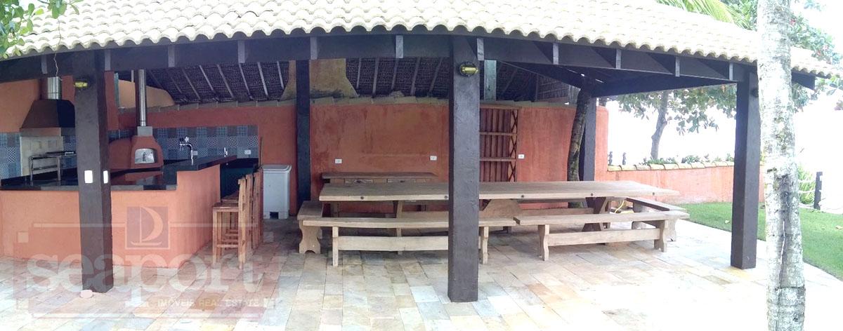 Deck churrasqueira