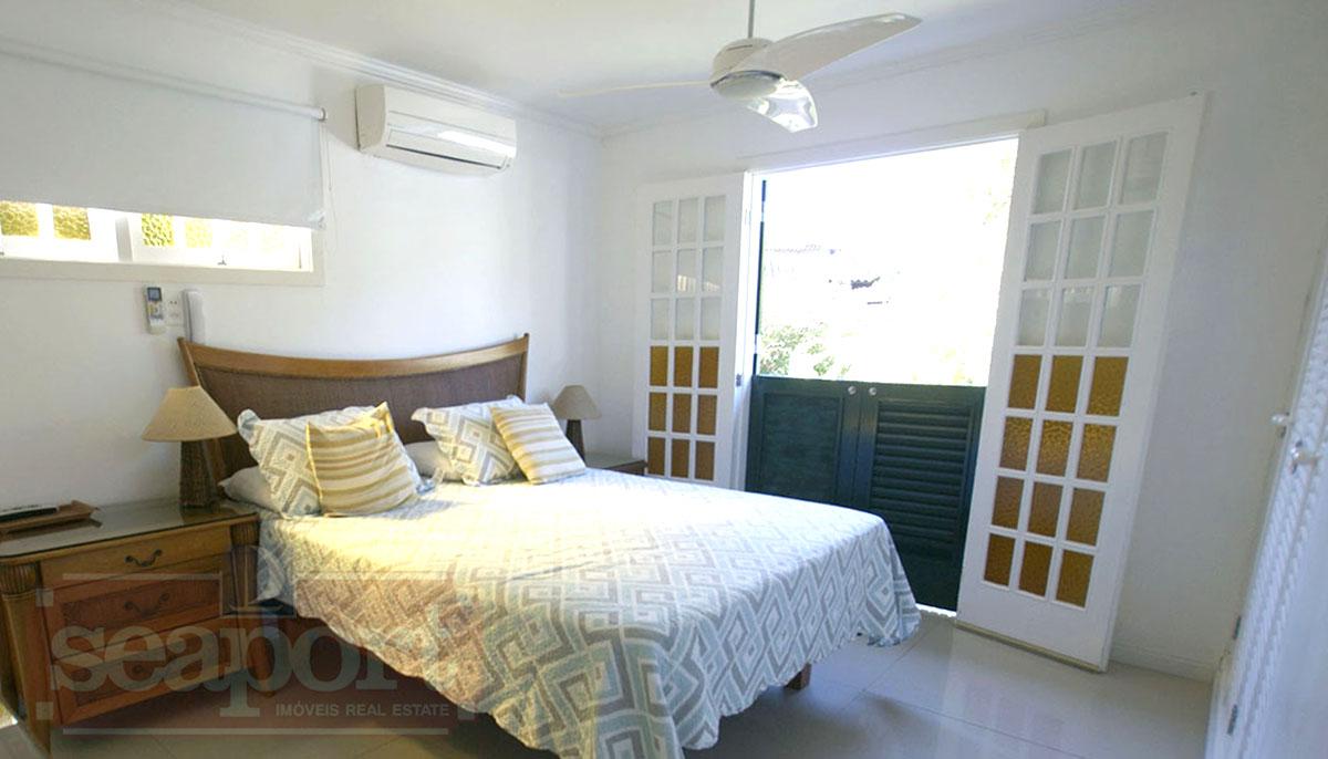 Suite 1: ar condicionado, ventilador, Smart tv 50