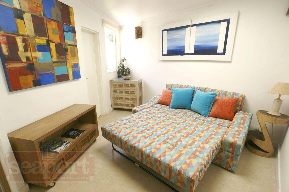 Suite 4: reversível reversível sofá-cama queen size