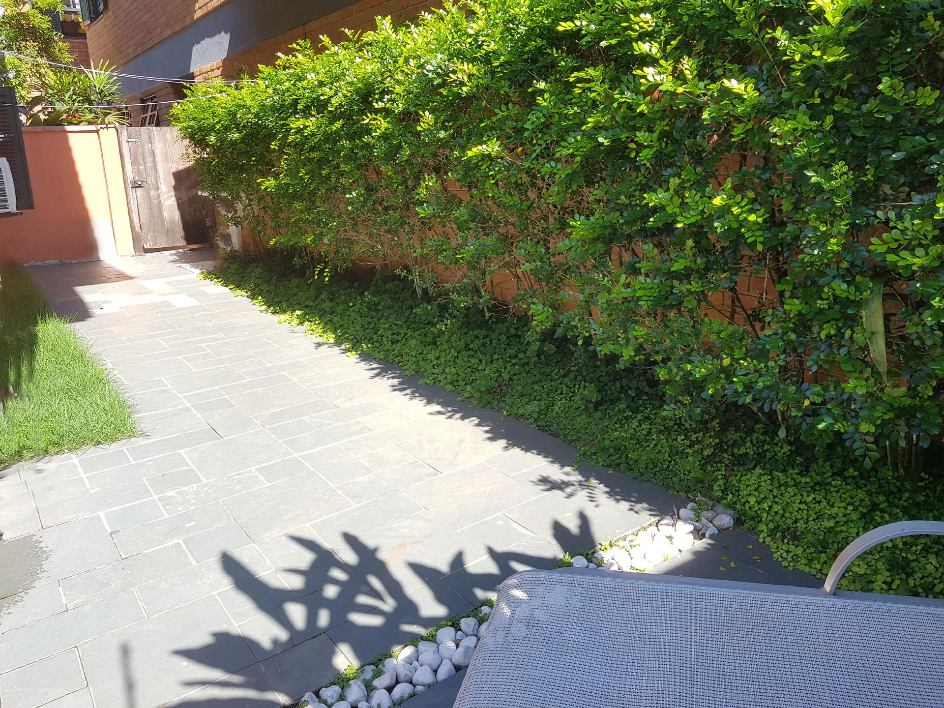 Varanda e Jardim