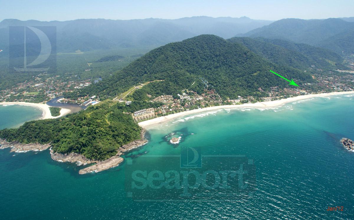 Localização do condomínio, melhor parte da praia