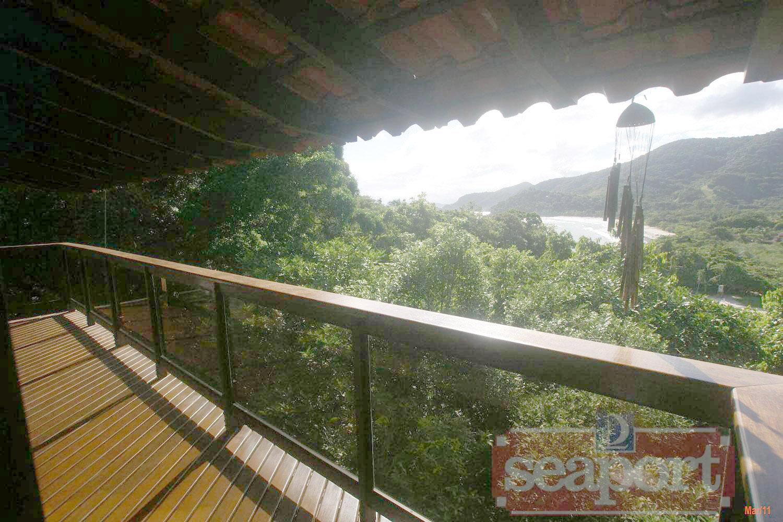 Vista panorâmica da varanda
