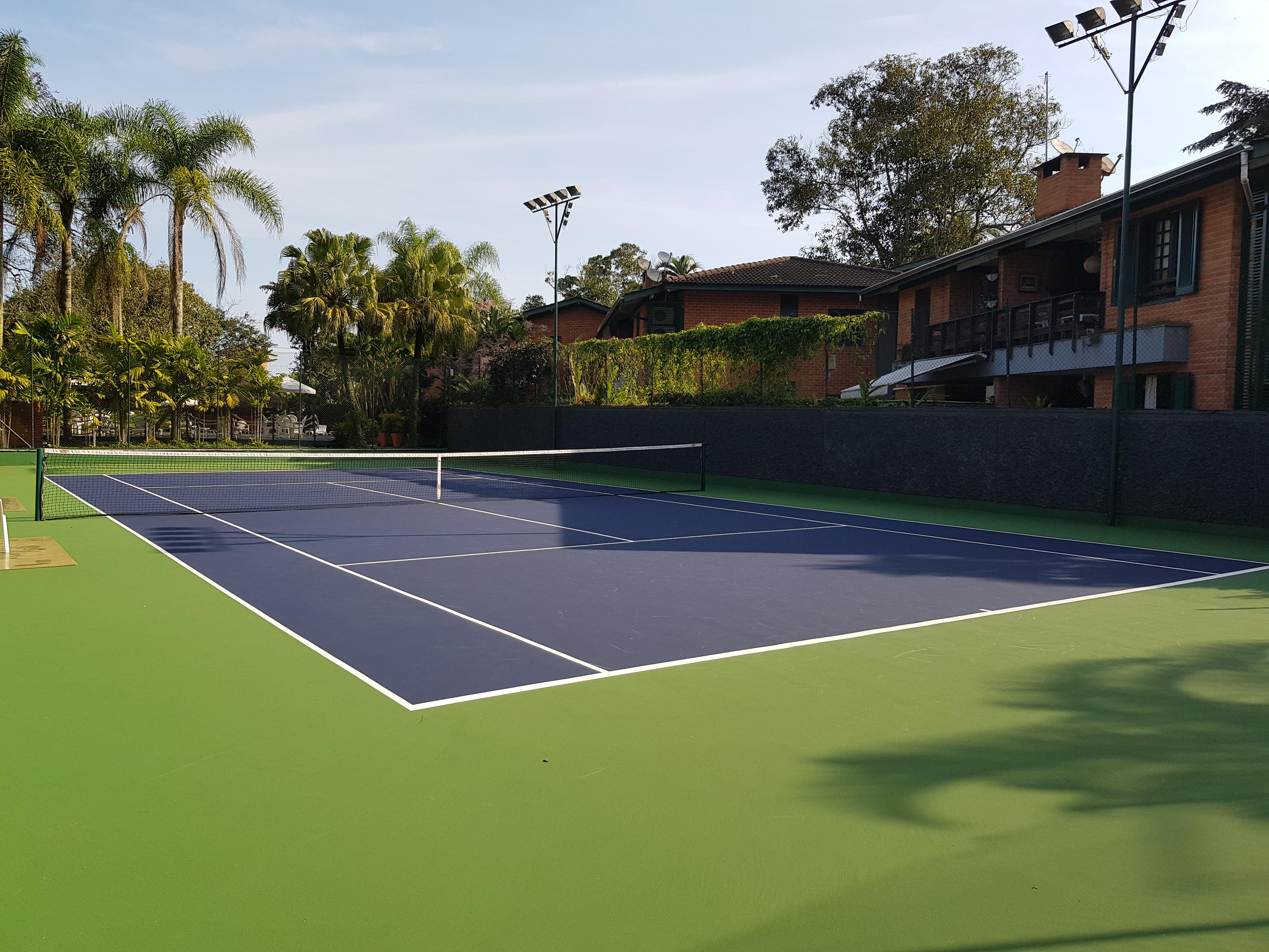 Quadra de tênis nova PlayPiso