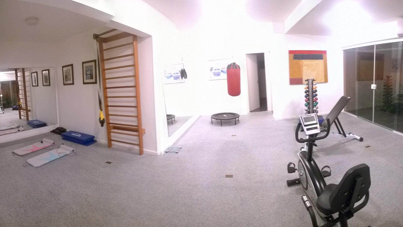 Sala Fitness do condomínio